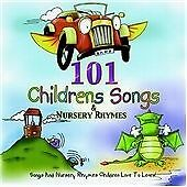 101 Children's Songs and Nursery Rhymes, Various Artists, Very Good CD