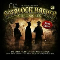 SIR ARTHUR CONAN DOYLE-SHERLOCK HOLMES CHRONICLES 27-DIE DREI STUDENTEN CD NEW
