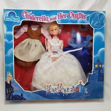 Vintage Cinderella and Her Outfits Fashion Doll Disney Magic Sears Box Set 1970s