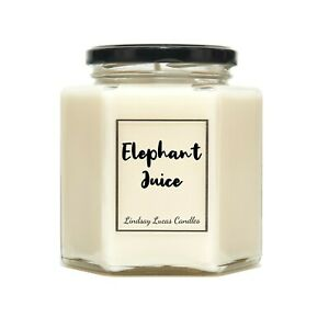 Elephant Juice Scented Candle Gift For Boyfriend/Girlfriend (I Love You)