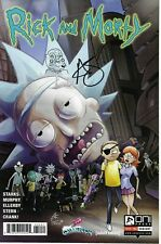 Rick and Morty #52 GalaxyCon Variant signed SKETCH Greg Kirkpatrick 1st Glootie