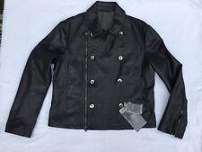 Giorgio Armani Leather Jacket .Original . - Made in Italy