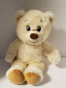 Adorable Build A Bear BAB Workshop Cream Beige Super Soft Bear