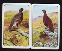 Vintage Swap/Playing Cards - Grouse Pair