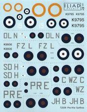 Iliad Design 1/72 avant-guerre Supermarine Spitfire Mk.l # 72009