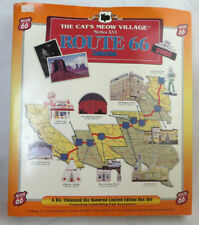 The Cat's Meow Village Series Xvi Route 66 Collection 6600 Limited Ed Box Set