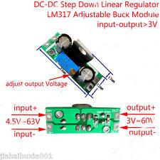 DC-DC 5~63V to 5V 9V 12V 24V 48V Buck Step-down Converter Linear Regulator Board