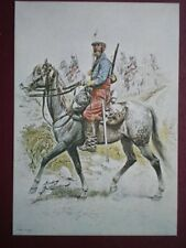 POSTCARD FRENCH UNIFORMS NO 4 HUNTERS OF AFRICA 1886