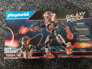 70024 Galaxy Pirates-Roboter - Playmobil Galaxy Police NEU & OVP