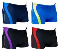 ACCLAIM Fitness Melbourne Boxer Trunks Mens Tie Nylon Lycra Swimming Seconds