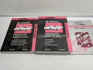 Service Repair Manuals For Toyota T100 For Sale Ebay