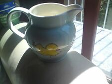 WHITTARD OF CHELSEA LARGE MILK JUG, CHICKENS WITH A KITE, VGC, FREE-MAILING..