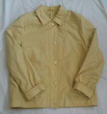 Dannimac Ladies Jacket Anorak Size 14 Mustard colour