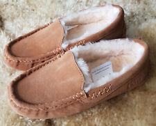 Ladies Moccoasin Slippers - Ugg Australia - Sheepskin - Size 5