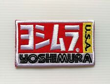 New Yoshimura USA Embroidered Sew  Iron on Patch Badge Motorcycles Bike Racing