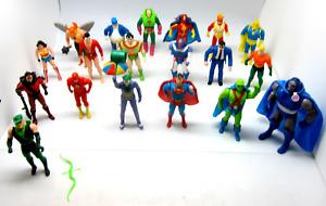 DC Super Powers Kenner 1984-85 Lot Of 19 Figures Superman Plastic Man Vintage