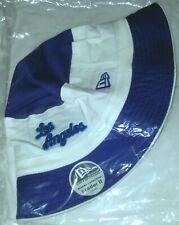 LAKERS NEW ERA HARDWOOD CLASSICS BUCKET CAP SEALED NBA S M LOS ANGELES BLUE WHT