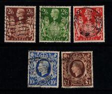 Great Britain GB 1939 King George VI  SG476-79  Used