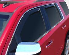 In-Channel Wind Deflectors for 2015 - 2020 Chevrolet Tahoe