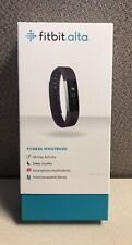 Fitbit Alta Fitness Tracker Plum FB406PMS Pre-owned EUC Extra Bands Free Ship!