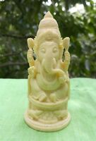 Ganesha statue indienne Ganesh Figurine résine Fait main Inde Hindou Shiva G2