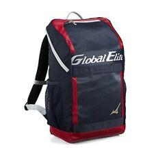 MIZUNO Baseball Global Elite Backpack 1FJD9413 Navy x Red