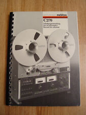Studer ReVox  C270   Set of schematics manual