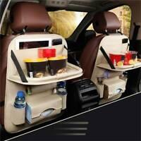 Car Seat Back Organizer Beige Seat Storage Bag Organizer Holder Accessory SL