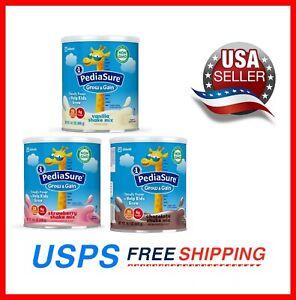 PediaSure Grow & Gain Non-GMO&Gluten-Free Shake Mix Powder, 14.1 oz FreeShipping