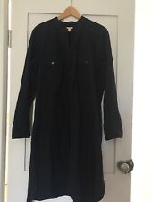 GAP WOMENS BLACK SHIrT DRESS SIZE XL