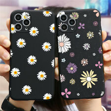 Summer Daisy Pattern Soft Silicone Cover For iPhones Samsung Huawei Xiaomi Case
