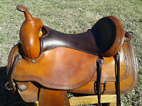 "17"" Circle Y Flex Lite Park & Trail Saddle - Made in Texas"