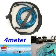 Swimming Leash Tether Swim Training Exerciser Resistance Waist Hip Belt