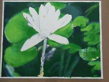 "Joseph Raffael ""Winter Moon Lily"" 1978  Hand Signed & Numbered Litho Beautiful"