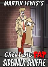 Great Big Fat Sidewalk Shuffle by Martin Lewis