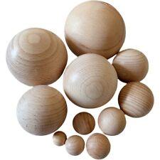 Holzkugel Buche ohne Loch Ø 15-20-25-30-35-40-45-50-60-70 oder 80 mm