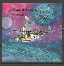 Cosmos Tanzanie (45) bloc oblitéré