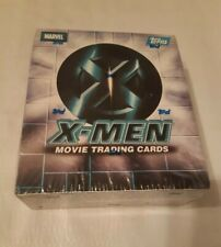 X  Men  the Movie  sealed box , Topps 2000 . Halle Berry Anna Paquin and others