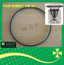NUOVA GUARNIZIONE COPERCHIO X BIMBY TM 31 SILICONICA X ALIMENTI TUV NO FOLLETTO