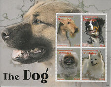 Dominica 2013 MNH The Dog Pekingese Samoyed 4v M/S Dogs Pets Stamps