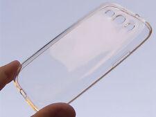 Protezione in silicone bianca trasparente per SAMSUNG i9300 GALAXY S3 S 3