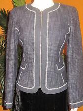 JONES NEW YORK  NWT size 6 $159  women's blue jacket blazer elegant