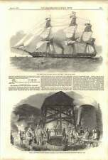1852 Scene Of Colliery Explosion Aberdare Valley Middle Duffryn Pit