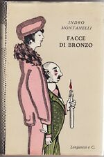 Indro montanelli, faces bronze, zie, 1956, policy, journalism