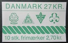 Denmark 1984 Scouting Booklet. MNH.