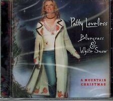 PATTY LOVELESS - BLUEGRASS & WHITE SNOW - NEW SEALED CD