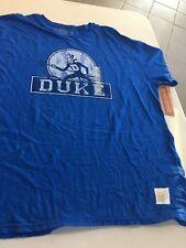 NCAA DUKE BLUE DEVILS BLUE TEE SHIRT FREE SHIPPING