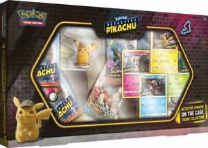 POKEMON TCG DETECTIVE PIKACHU - On the case Figure Collection Booster NEW