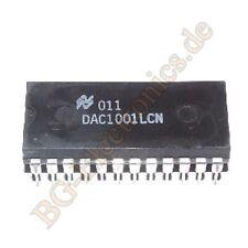 1 x DAC1001LCN 17 V, 9-bit uP compatible, double-buffered D/A  NS DIP-20 1pcs