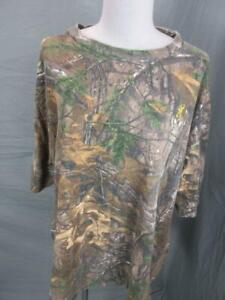 Browning Size 2XL Mens Brown 100% Cotton Short Sleeve Hunting T-Shirt T468
